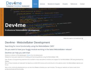 mywebsitebaker.com screenshot