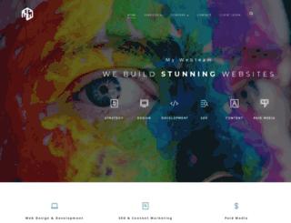 mywebteam.com screenshot