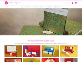 myweddingknot.com screenshot