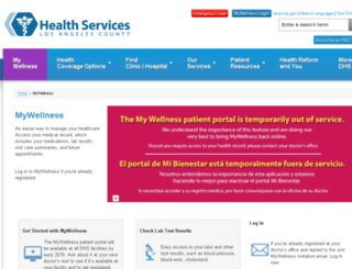 mywellness-ladhs.iqhealth.com screenshot