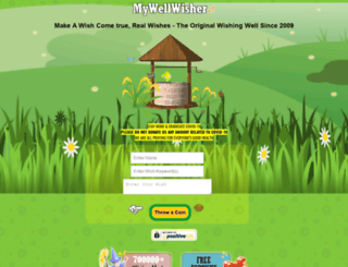 mywellwisher.com screenshot