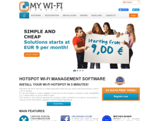 mywifiservice.com screenshot