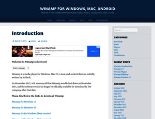 mywinamp.com screenshot