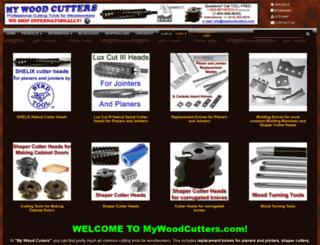 mywoodcutters.com screenshot