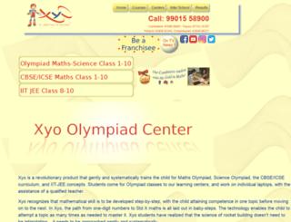 myxyo.co.in screenshot