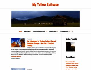 myyellowsuitcase.wordpress.com screenshot