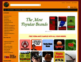 myyerbamatestore.com screenshot