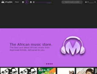 myziki.com screenshot