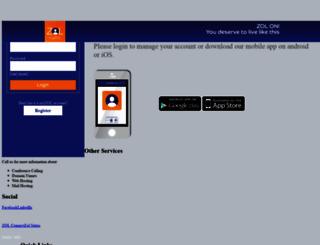 myzol.zol.co.zw screenshot