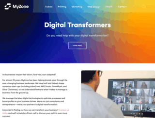 myzone.com screenshot