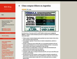mzablog.wordpress.com screenshot