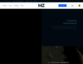 mzgroup.com screenshot