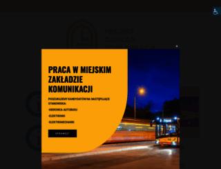 mzk.grudziadz.pl screenshot