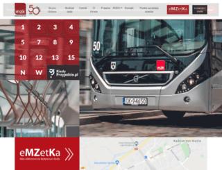 mzkk-kozle.com.pl screenshot