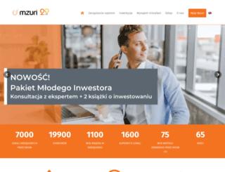 mzuri.com.pl screenshot