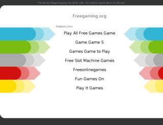 n-gagegamer.freegaming.org screenshot