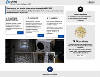 n-v-air.com screenshot
