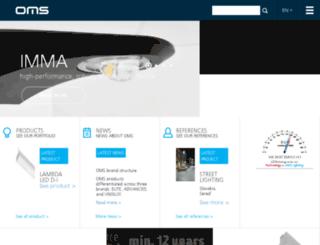 n.omslighting.com screenshot
