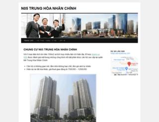 n05trunghoanhanchinh.wordpress.com screenshot
