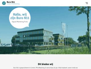 n11.nl screenshot