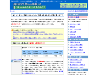 n225mini.net screenshot