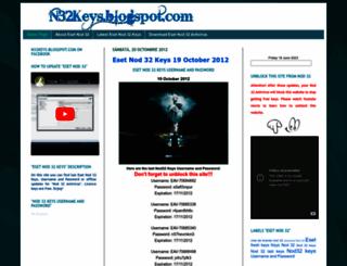 n32keys.blogspot.com screenshot