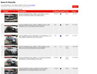 n4carsales.webzone.ie screenshot