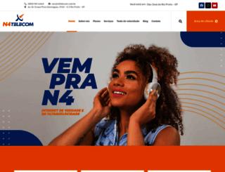 n4telecom.com.br screenshot