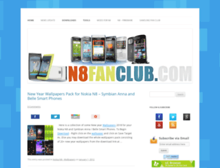 n8fanclub.com screenshot