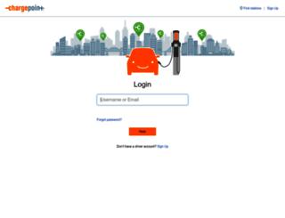 na.chargepoint.com screenshot