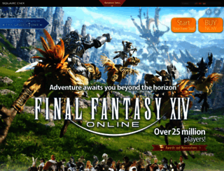 na.finalfantasyxiv.com screenshot