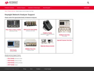 na.tm.agilent.com screenshot