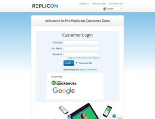 na1.replicon.com screenshot