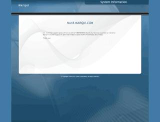 na18.marqui.com screenshot