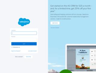 na6.salesforce.com screenshot