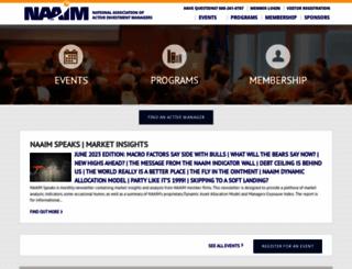 naaim.org screenshot