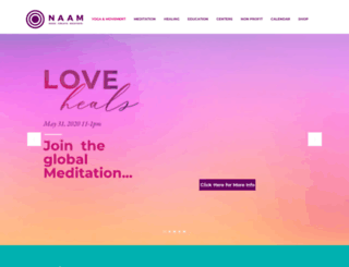 naamyoga.com screenshot