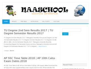 naaschool.com screenshot