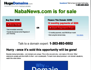 nabanews.com screenshot