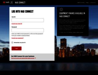 nabconnect.nab.com.au screenshot