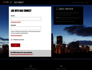 nabconnect2.nab.com.au screenshot