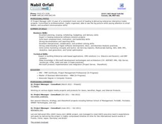 nabilorfali.com screenshot