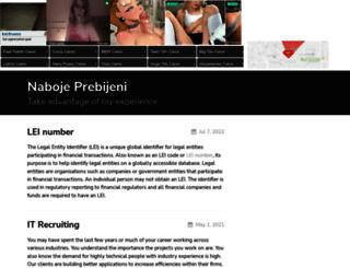naboje-prebijeni.cz screenshot