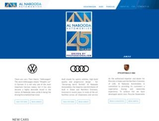 nabooda-auto.com screenshot