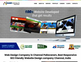 nabrinfotech.com screenshot
