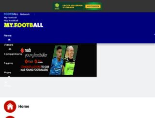 nabyoungfootballer.a-league.com.au screenshot