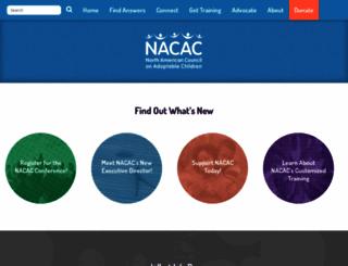 nacac.org screenshot