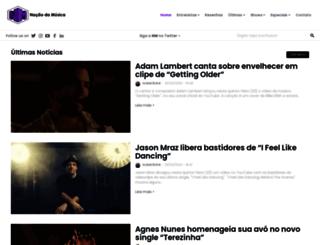 nacaodamusica.com screenshot