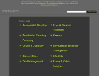 nacbc.com screenshot