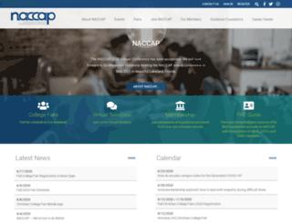 naccap.site-ym.com screenshot
